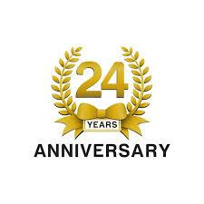 graphic for 24th anniversary