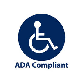 image of ADA wheelchair logo