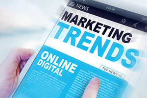 image suggestive of digital marketing trends