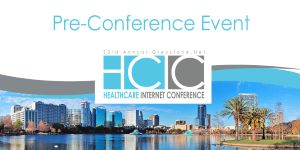 image of HCIC pre-conference event logo